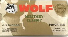 Wolf Military Classic 6.5 Grendel 110grain
