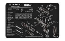 Tekmat Pistol Mat Ruger Lcp Blk