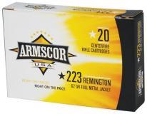 Armscor 223rem 55gr FMJ 20/1000