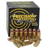 Precision Cartridge .40 S&W 165gr -