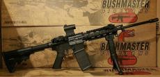 Bushmaster Xm15 QRC With Quad Rail