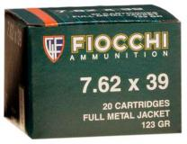 Fiocchi Rifle Shooting 7.62mmx39mm Full Metal