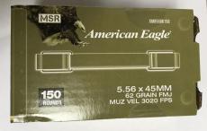Federal Ammunition American Eagle 5.56x45mm 62