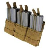 Tripel Stacker M4 Mag Pouch Coyote