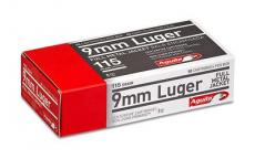 Aga 9mm 115 Gr Fmj 50ct/box