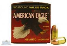 Federal American Eagle Standard 45 ACP
