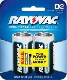 Rayovac 8132d Alkaline D Card Battery