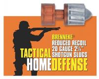 Brenneke Tactical Home Defense Slugs 20