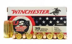Winchester 38 Spl 130gr USA Target