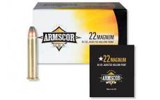 Armscor 22wmr 40gr Jhp 50/5000