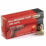 Geco 9mm Browning Court (380acp)