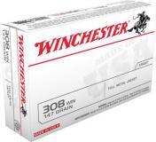 Winchester USA 308 Winchester/7.62 Nato FMJ