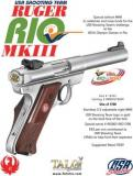 Ruger Mark III Target 22 Long
