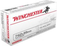 Winchester Ammo USA 7.62mmx39mm Full Metal