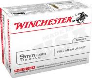Winchester Ammo USA 9mm Full Metal