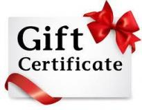 Gift Certifacate $500