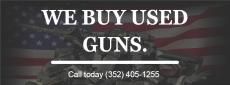 We buy Used Guns.