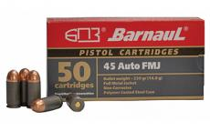 Barnaul 45auto 230gr Fmj230 50/500