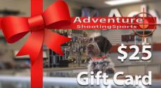 $25 Adventure Outdoor Gift Card