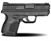 "Sprgfld Xds 9mm 3.3"" Blk 8rd"
