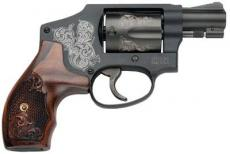 S&W 442-1 Machine Engraved 38 Spec
