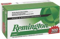 Remington Ammunition UMC 9mm Jacketed Hollow