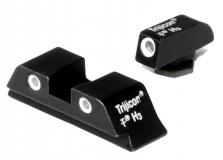 Trijicon Tritium Glock 17,19,22,23,26,27 Green Front/rear