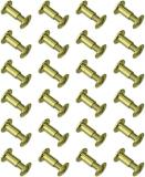Grovtec Brass Chicago Screws