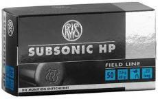 Rws 22lr Subsonic 40gr 50/5000