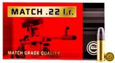 Geco 22lr Match 40gr 50rd