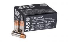 Sig Cart E Vcrown 365 9mm