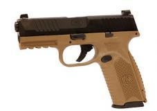 Fn 509 9mm Fde/blk 4 10+1