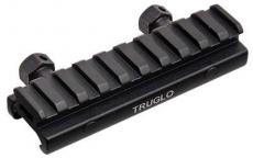 Truglo Picatinny Riser Mount Black