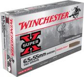 Winchester Ammo Super X 6.5mmx55mm Soft