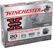 Winchester Super-x Slugs 20 ga 2.75""