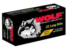 Wolf 22 Long Rifle Match Target