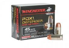 Winchester Ammo Supreme Elite 45 ACP