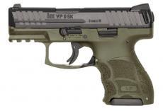 """HK Vp9sk 9mm 3.4"""" OD 10rd"""