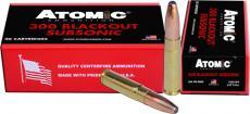 Atomic Ammo .300aac Blackout