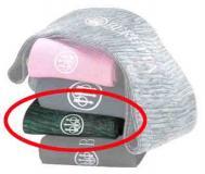 Beretta Gun Sock W/logo Green