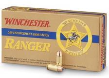 Winchester Ranger 155gr JHP 50 Rounds