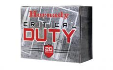 Hrndy 9mm 124gr Crt Dfnse 25/250