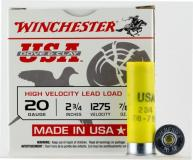 Winchester USA Dove & Clay 20ga
