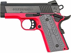 Defender 9mm Blk/red 3 8+1