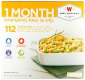 Wise 01116 1-month Emerg Food Supply