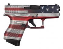 Glock 43 USA 9mm Cerakote Flag