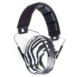 Champion Slim EAR Muffs Passive Zebra