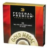 Federal Premium Small Pistol Match 10