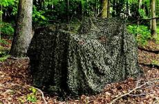 Camo Unlimited Pro Camouflage Netting Wood