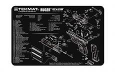 Tekmat Pistol Mat Ruger Lc9 Blk